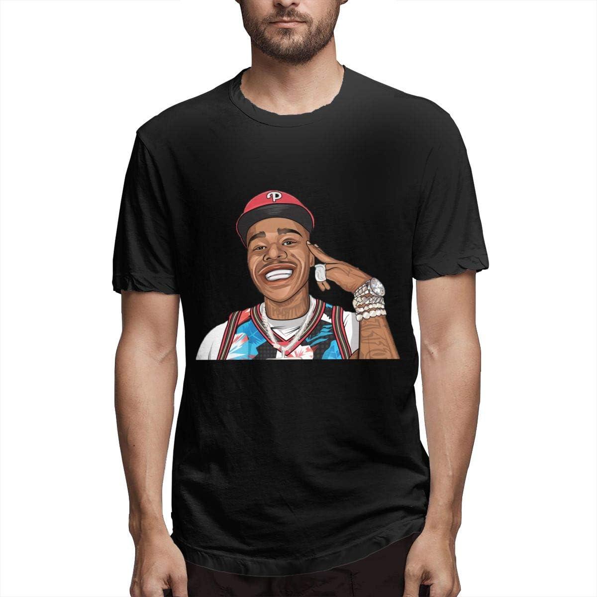 Shxjdthafa Dababy T-shirt Cool Dry Short-sleeved Sports Active Sports T-shirt Black