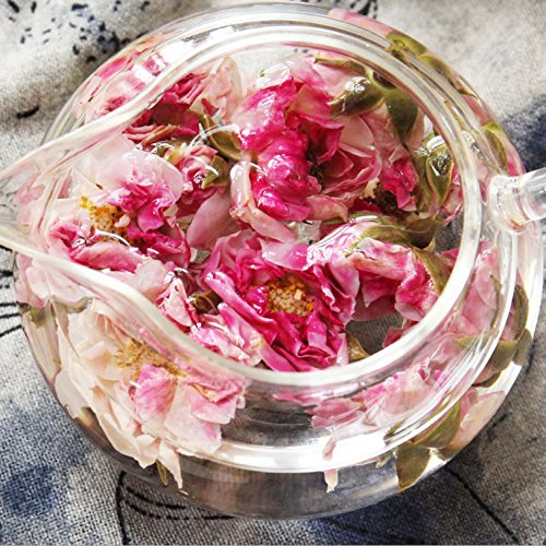 Aseus Yunnan Natural Rose Crown tea, handmade rose tea, dragon ball special big sulfur free dry rose 500g by Aseus-Ltd (Image #2)