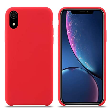 coque apple rouge iphone xr