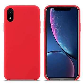 iphone xr coque rouge apple