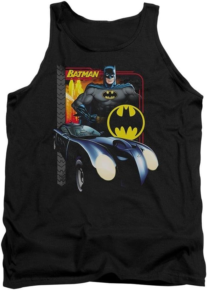 Amazing Batmobile Adult Tank Top Batman