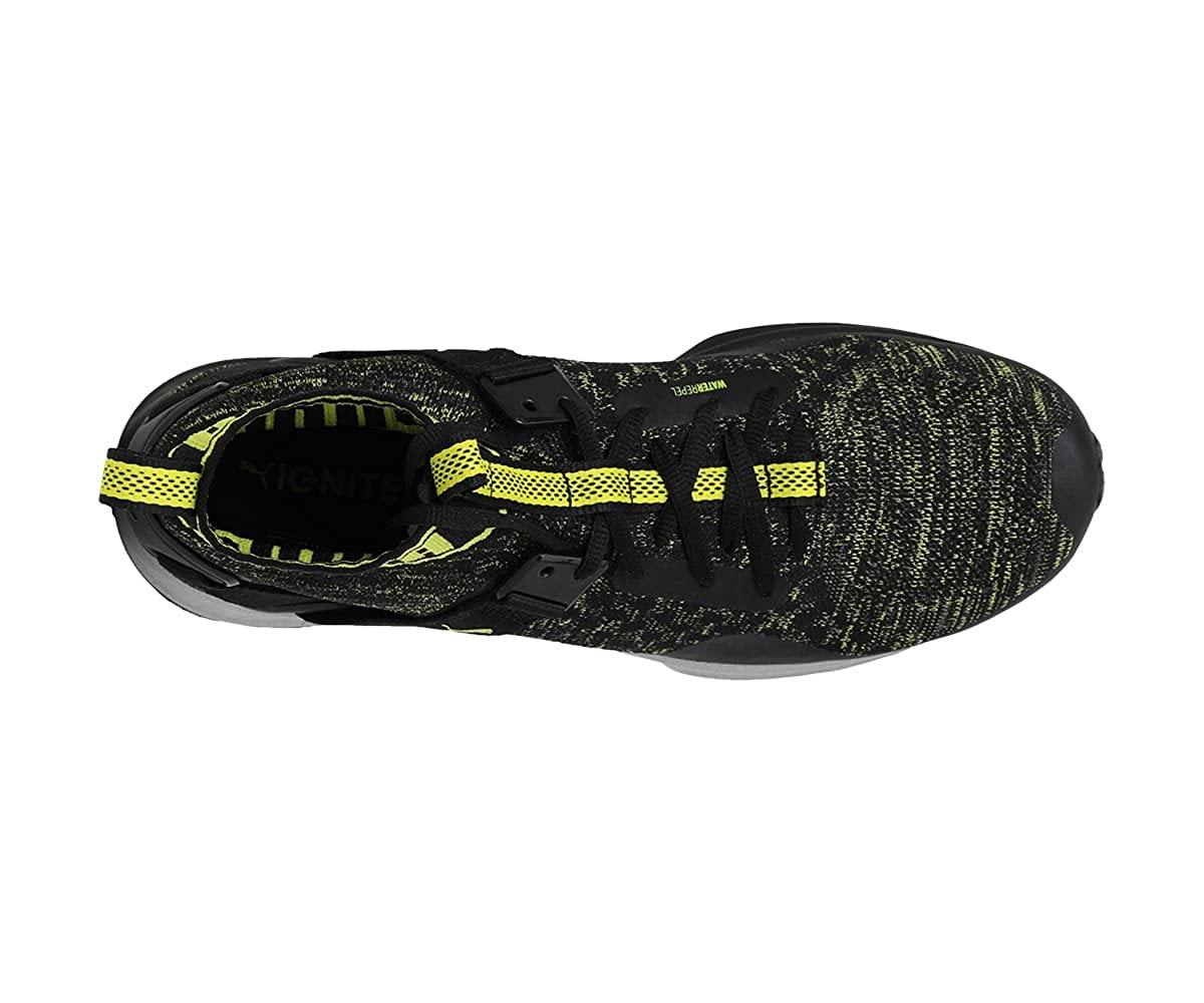 sports shoes bb553 cab95 Puma Men's Ignite Evoknit Nc Black Running Shoes-9 UK/India ...