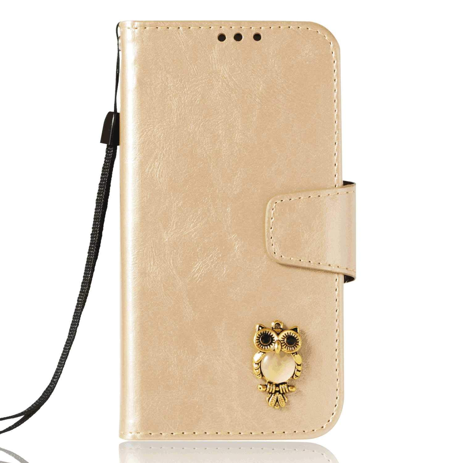 Cover for Leather Card Holders Wallet Cover Premium Business Kickstand Flip Cover Samsung Galaxy Note8 Flip Case