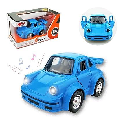 Amazon Com Joyjam Porsche Model Car 4 1 38 Mini Die Cast Race Car