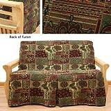 Arabian Skirted Futon Slipcover Full 617