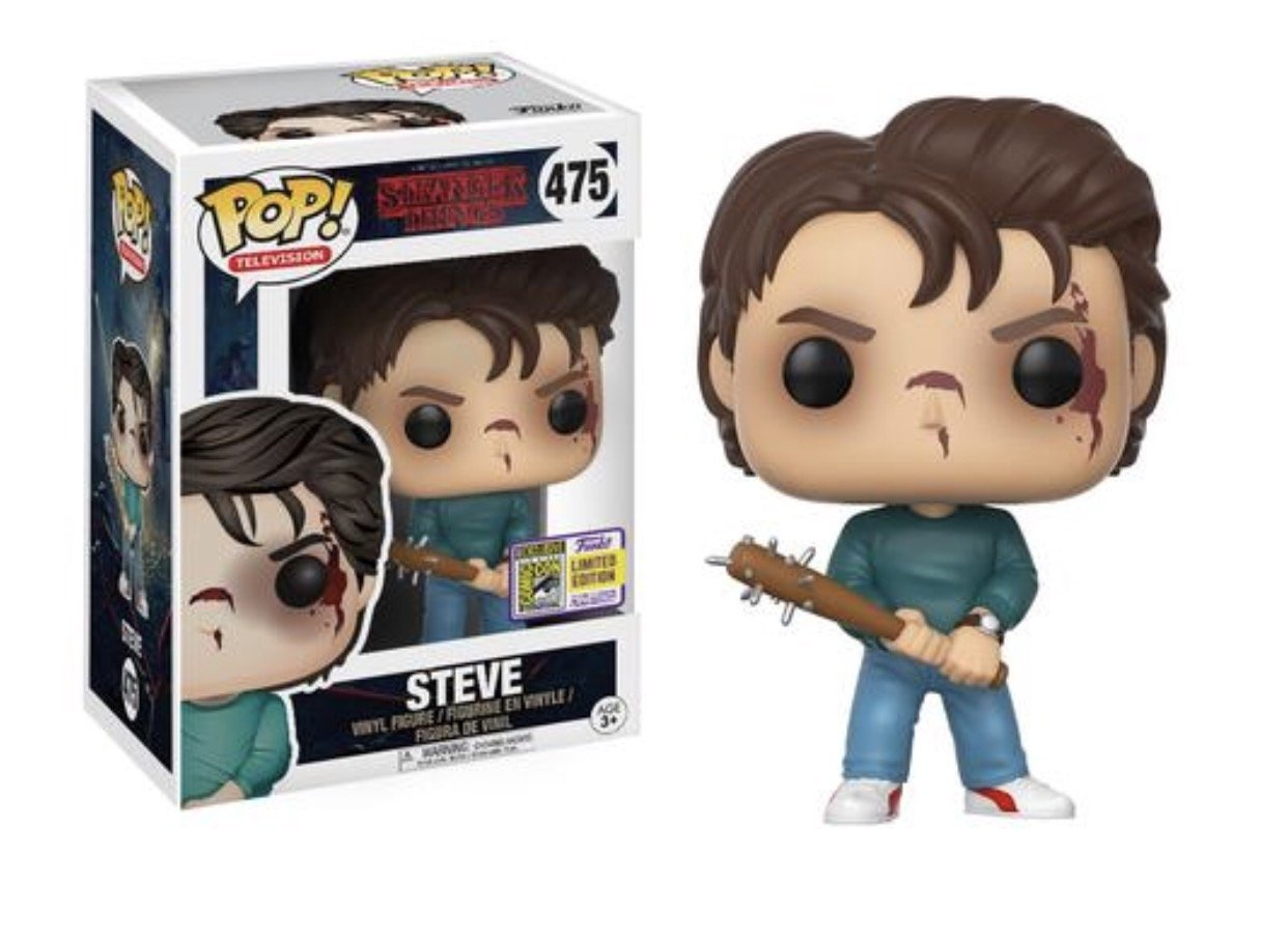 Funko Pop Television: Stranger Things - Steve SDCC 2017 Exclusive