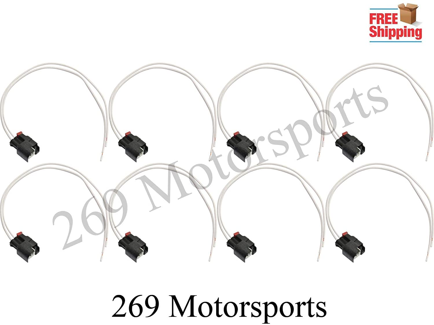 Terrific Amazon Com Fuel Injector Connector Wiring Harness Kit Fits Wrangler Wiring Cloud Pimpapsuggs Outletorg
