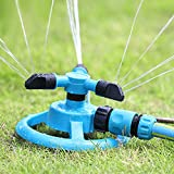 Cheap JVR Lawn Sprinkler for Kids, Automatic Garden Water Sprinklers Lawn Irrigation System 360 HE35