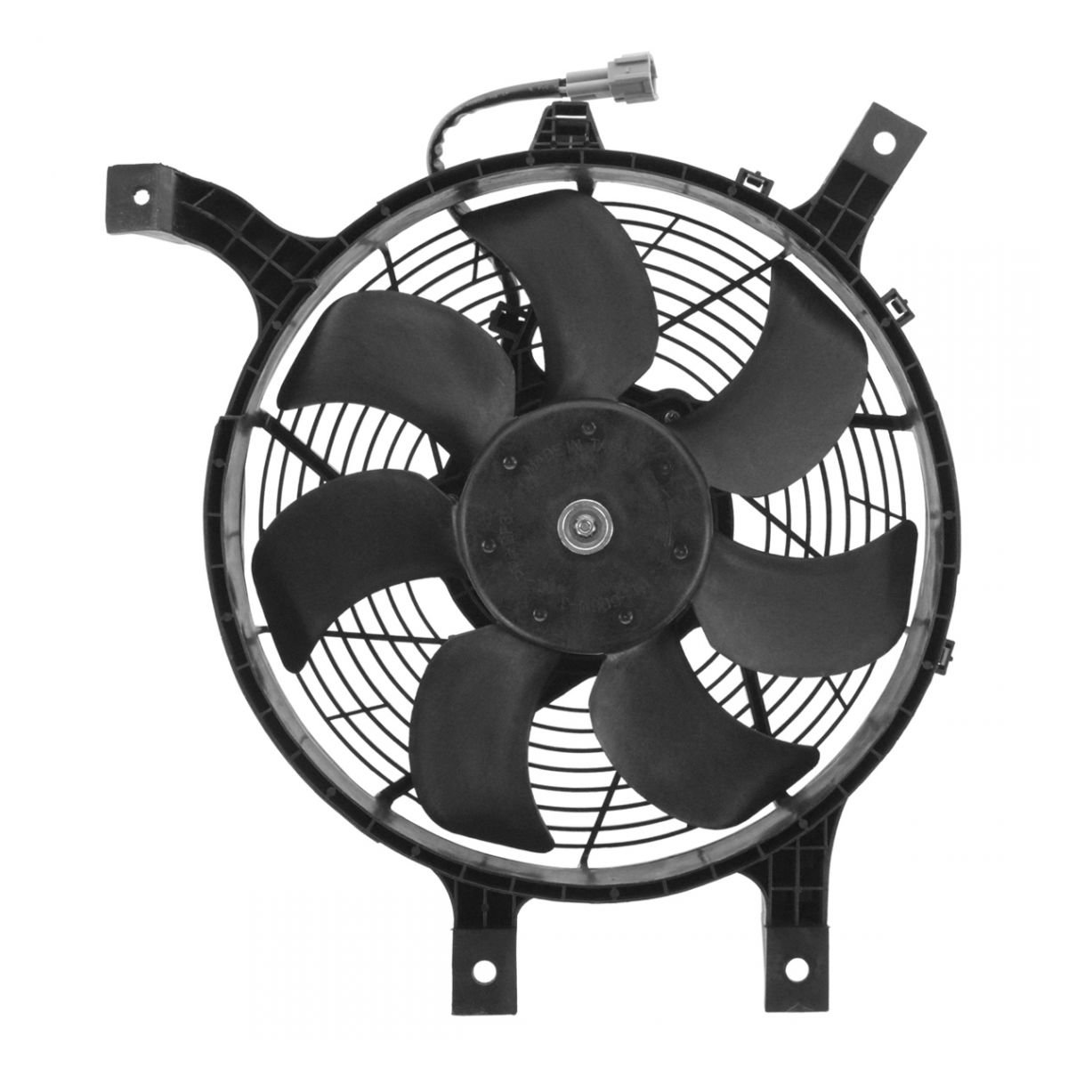 AC A/C Condenser Cooling Fan Assembly w/Motor for Nissan Frontier Xterra 3.3L