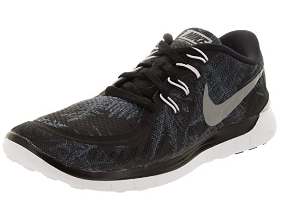 e14b23136afb Nike Women s Free 5.0 Solstice Running Shoe Blck Rflct Slvr Pr P Crystal  8.5 B(M) US  Amazon.in  Shoes   Handbags