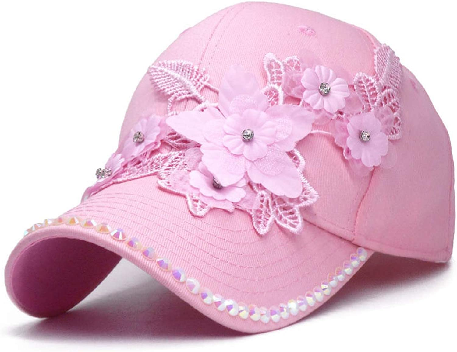 2019 New Baseball Cap for Girls Lifelike Flowers Women Summer Caps Casual Sun Casquette Luxury Hip Hop Hat