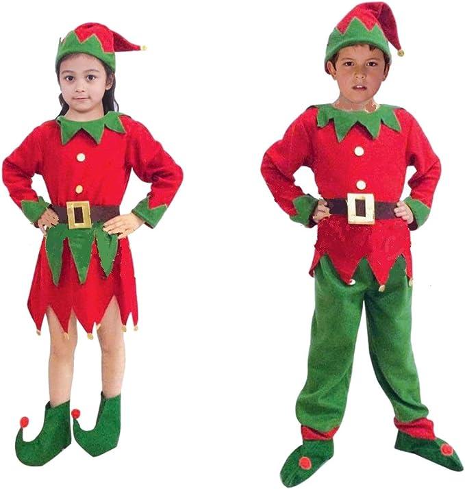 Disfraces de Papá Noel, Mamá Noel, Elfos. Varias tallas de niños y ...