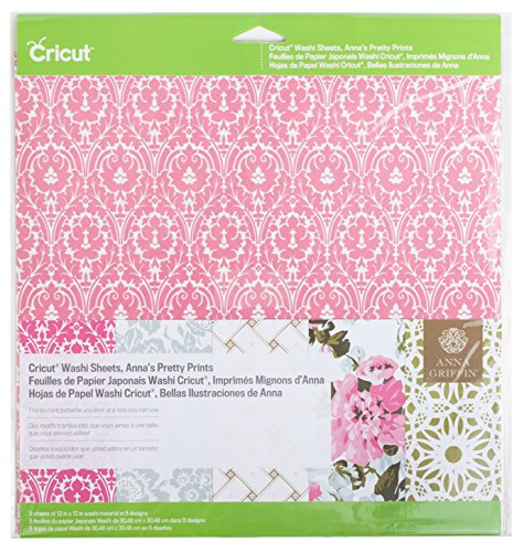 Griffin Anna Designs - Cricut Washi Sheets, Anna's Pretty Prints