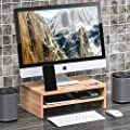 Well Weng Bamboo Monitor Stand