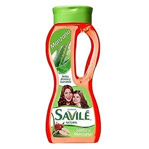 Savile Shampoo with Aloe Pulp and Apple New 800ml/shampoo Con Sabila Y Manzana New 800ml