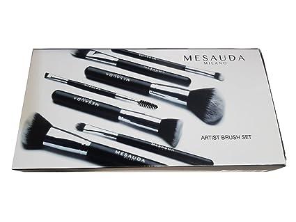Mesauda - Juego de brochas profesionales para el maquillaje ...