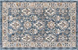 Frankie Traditional Oriental Navy Scatter Mat Rug, 2′ x 3′ Review