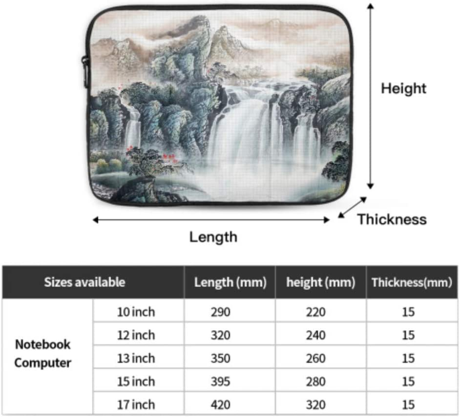 MacBook Pro Hard Cover Beautiful Traditional Chinese Painting 2018 MacBook Pro Accessories Multi-Color /& Size Choices/10//12//13//15//17 Inch Computer Tablet Briefcase Carrying Bag