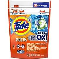 Tide Pods Ultra Oxi Liquid Laundry Detergent Pacs, 26 Count