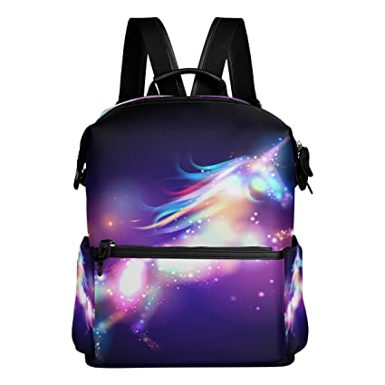 Amazon.com | ALAZA Galaxy Unicorn Casual Backpack Waterproof Travel Daypack Student School Bag | Kids Backpacks