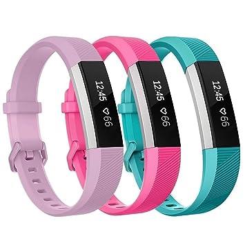 4473c1ac1444 Aimtel Fitbit Ace Correa y Fitbit Alta HR, Correa de Silicona ...