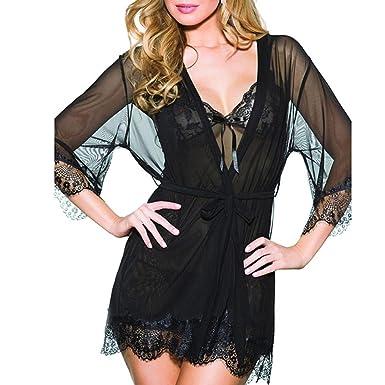 23061569af VPASS A Suit Women Sexy Lace Fashion Lingerie Vest Top Bra Seductive  Babydoll Hollow Out Fishnet Underwear Pierced Multicolor Sleepwear   Amazon.co.uk  ...