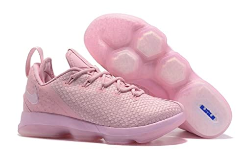 san francisco 13321 8539d Nike 878636-600 Lebron XIV Low Prism Pink Mens Basketball Shoes Size 13 (13