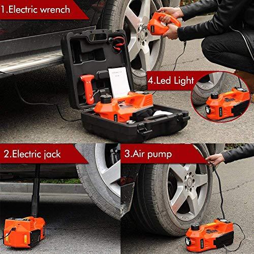 DASONO 3-in-1 Multifunctional Portable Car Tire Repair Kit ...