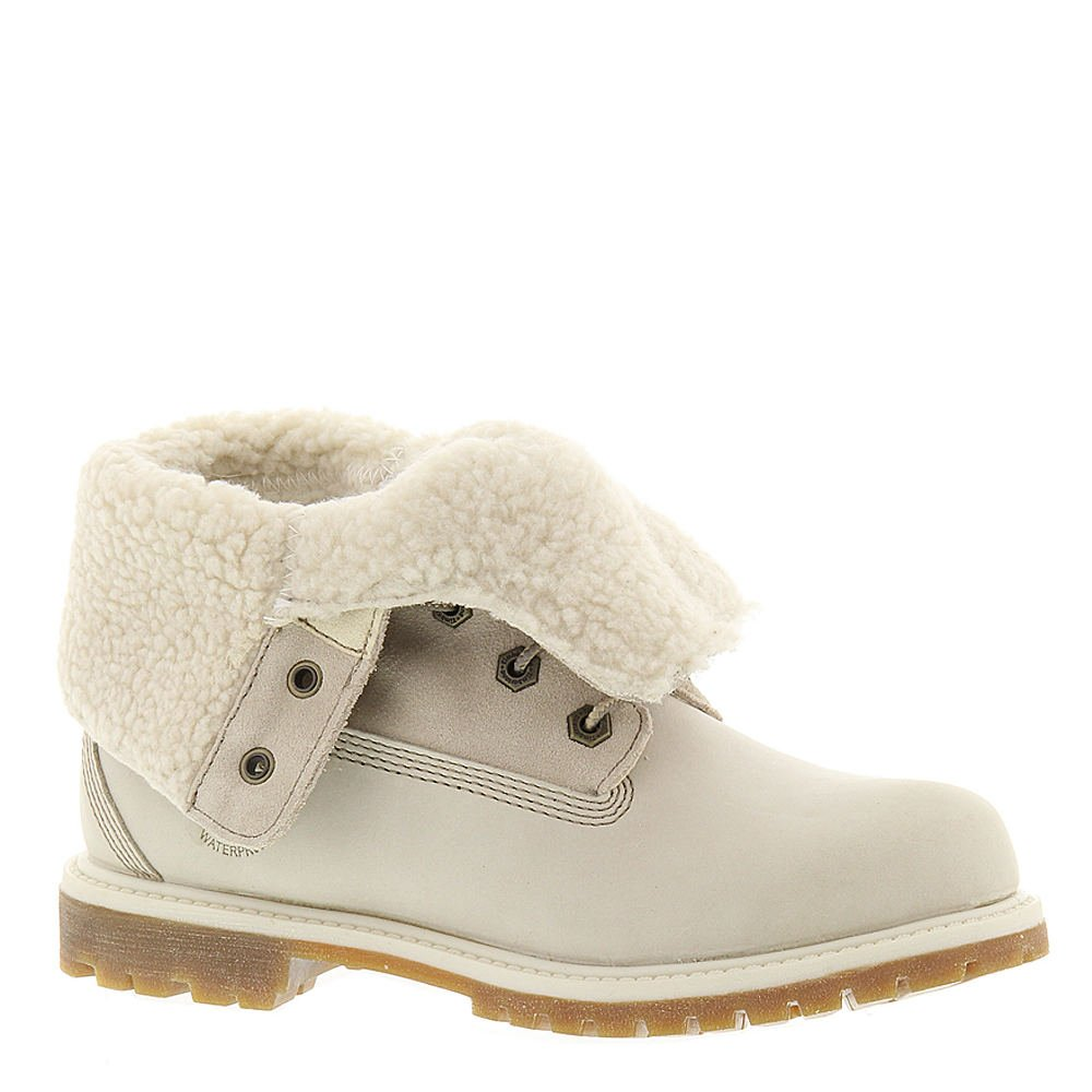 Timberland Teddy Fleece Women's Boot 8.5 B(M) US Winter White by Timberland (Image #1)
