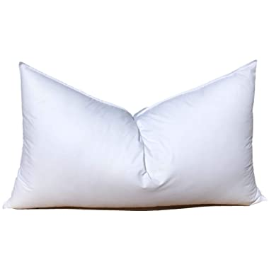 Pillowflex Synthetic Down Pillow Insert for Sham Aka Faux/Alternative (20 Inch by 26 Inch)