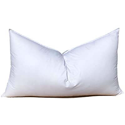 28x28 Pillow Form Insert for Craft  Throw Pillow Shams Poly Cotton Cover Machine Washable