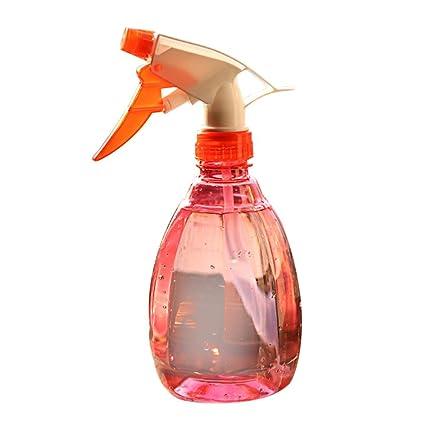 Covermason Plastico Botella de Spray Regar Flores Rociador de Agua para Plantas(Rojo)