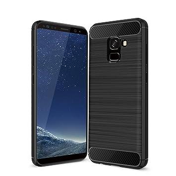 Samsung Galaxy A8 2018 Funda, Acelive TPU Silicona Case Cover Carcasa Protectora y para Samsung Galaxy A8 2018 SM-A530