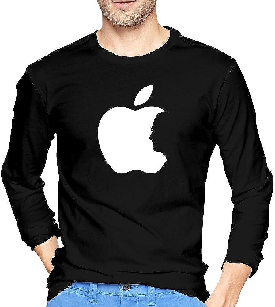 Man's IPhone IPad ITunes Apple Ceo Steve Jobs T Shirts Long-Sleeve