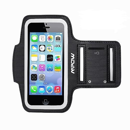 35 opinioni per Mpow® Running Sport Sweatproof Armband + Key Holder for iPhone 5/5S/5C/SE, iPod