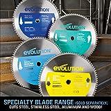 Evolution Power Tools EVOSAW380 15-Inch Steel