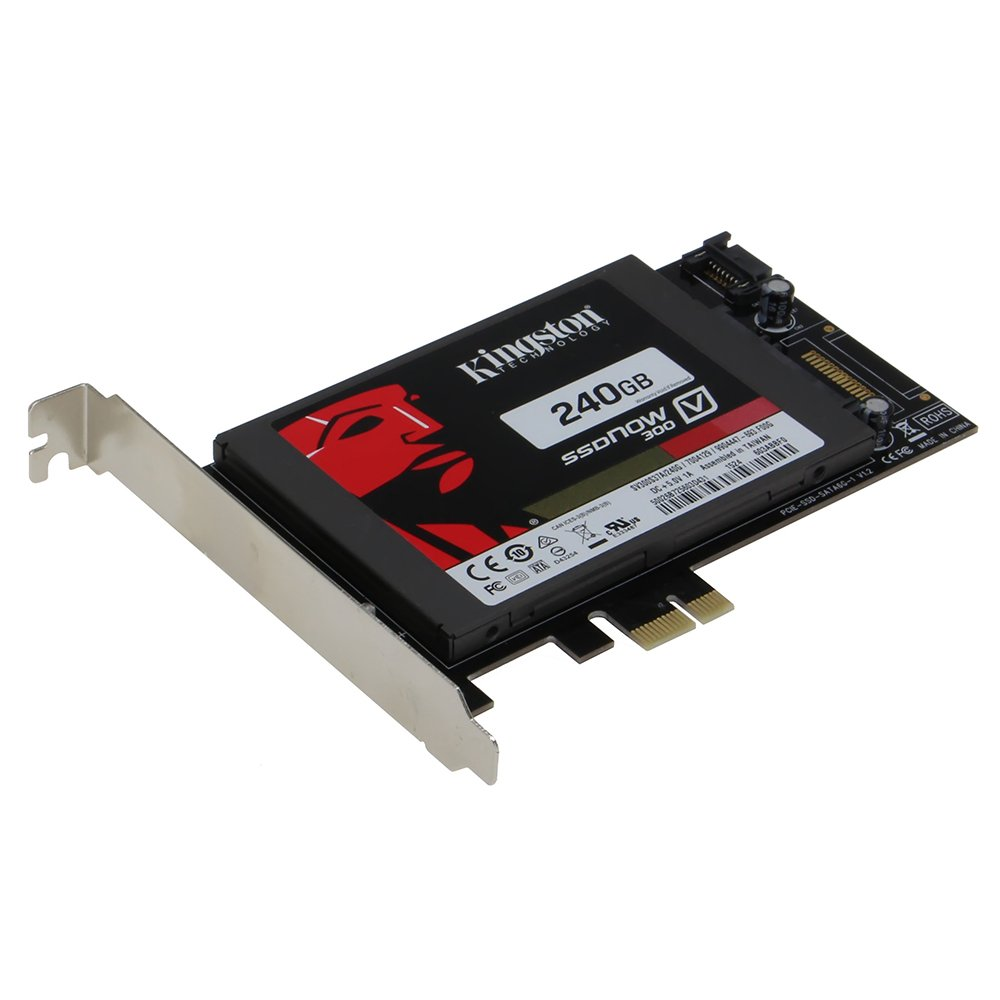 Sedna PCI Express (PCIe) SATA III (6G) SSD Adapter with 1 SATA III Port (With Built In Power Circuit, no need SATA Power connector, best for Mac), SSD not included