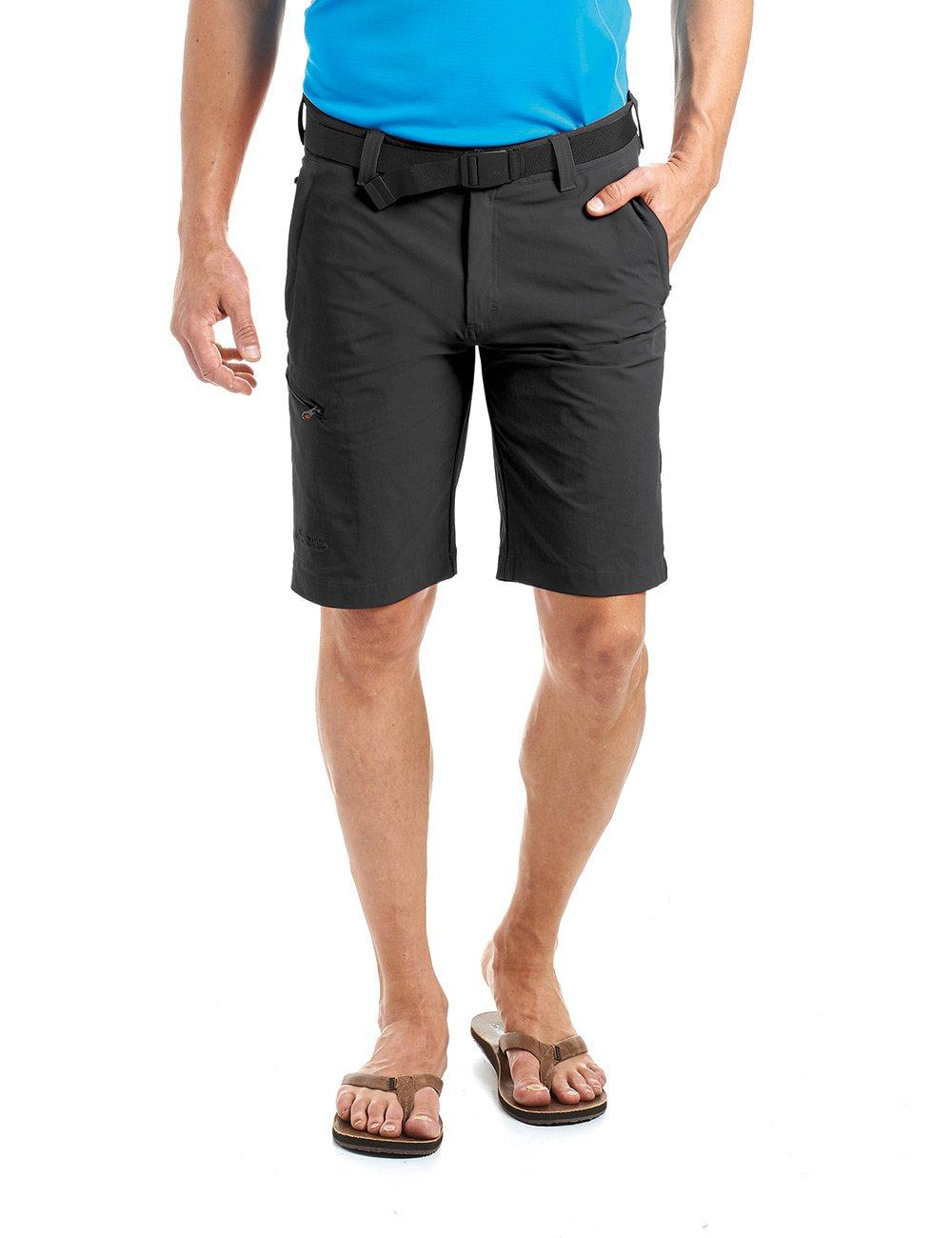 MAIER SPORTS Herren Bermuda, Outdoorhose  Funktionshose  Shorts inkl. Gürtel, bi-elastisch, schnelltrocknend und wasserabweisend,