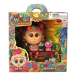 Distroller Neonate Nerlie Frida Kahlo Baby Doll  Nerlie World Edition Ksimerito Edition in Spanish Friduchis
