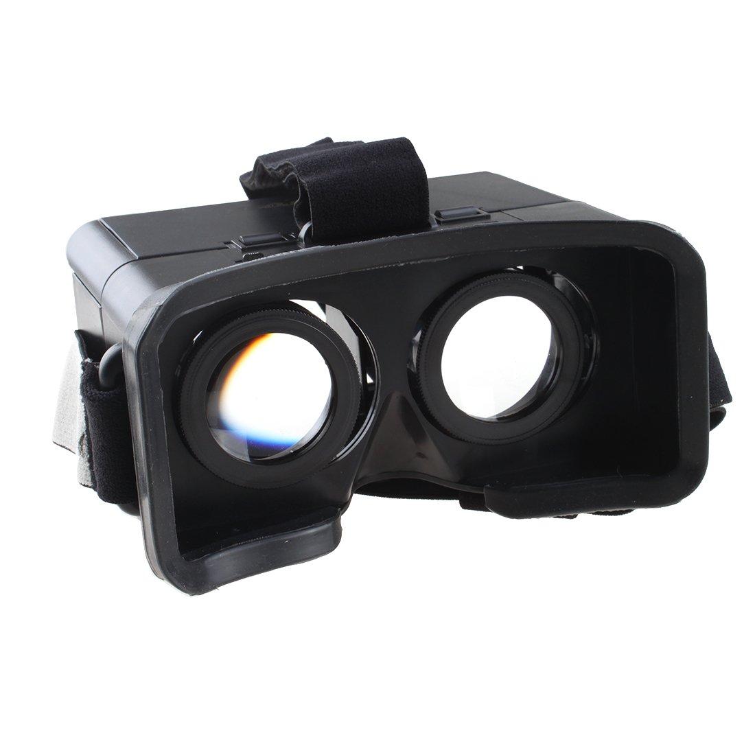 ab8ffae7bc47 AGPtEK Google Cardboard Head Mount Plastic Version Simple VR Color Cross  Universal Virtual Reality 3D   Video Glasses For Virtual screen 3.5~6    mobile ...