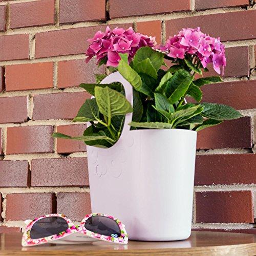 Borsa 17 x Lily cm colore chiaro 45 multiuso 5 mirtillo x 40 spiaggia flessibile cestino r4qr0