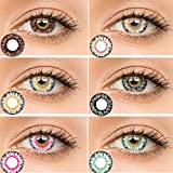 Best Contact Lens - Women Dream Multicolor Cute Charm and Attractive Fashion Review