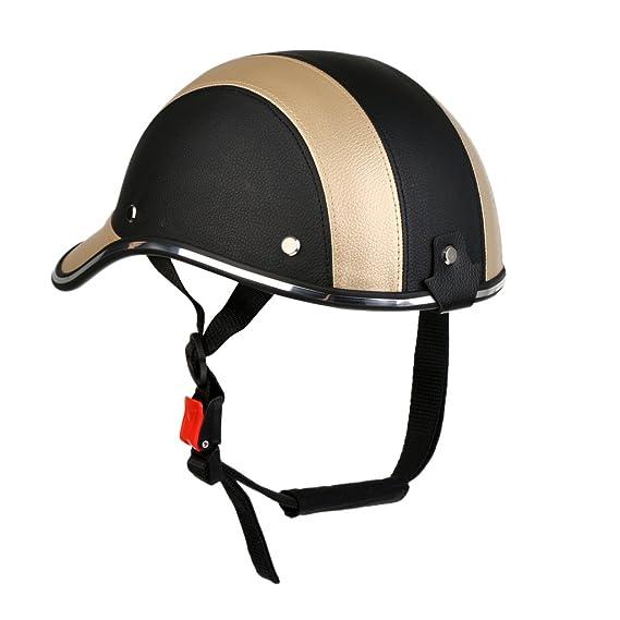 Gorra Casco Protector de Cabeza de Béisbol Motocicleta Moto Anti ...