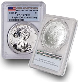 2006 American Silver Eagle Proof with Original Box and COA