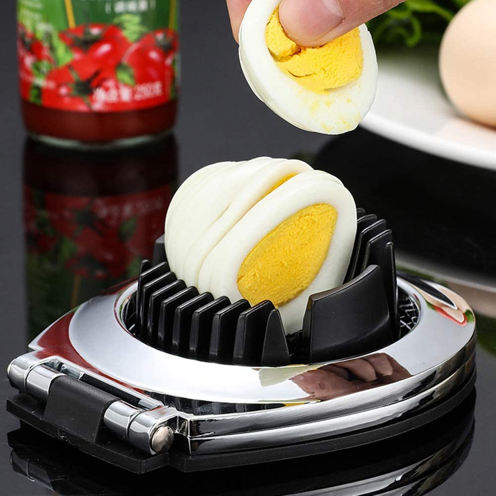 SDFG Egg Slicer Eggs Cutting Multifunctional Egg Slicer Egg Wedges Fruits Slicing Strawberry Cheese Slicer Kitchen Tool