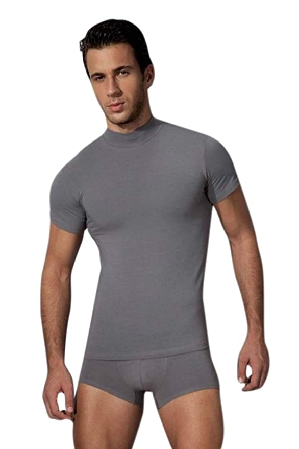 c3649c02542a DOREANSE T-Shirt Rollkragen L  Amazon.de  Bekleidung