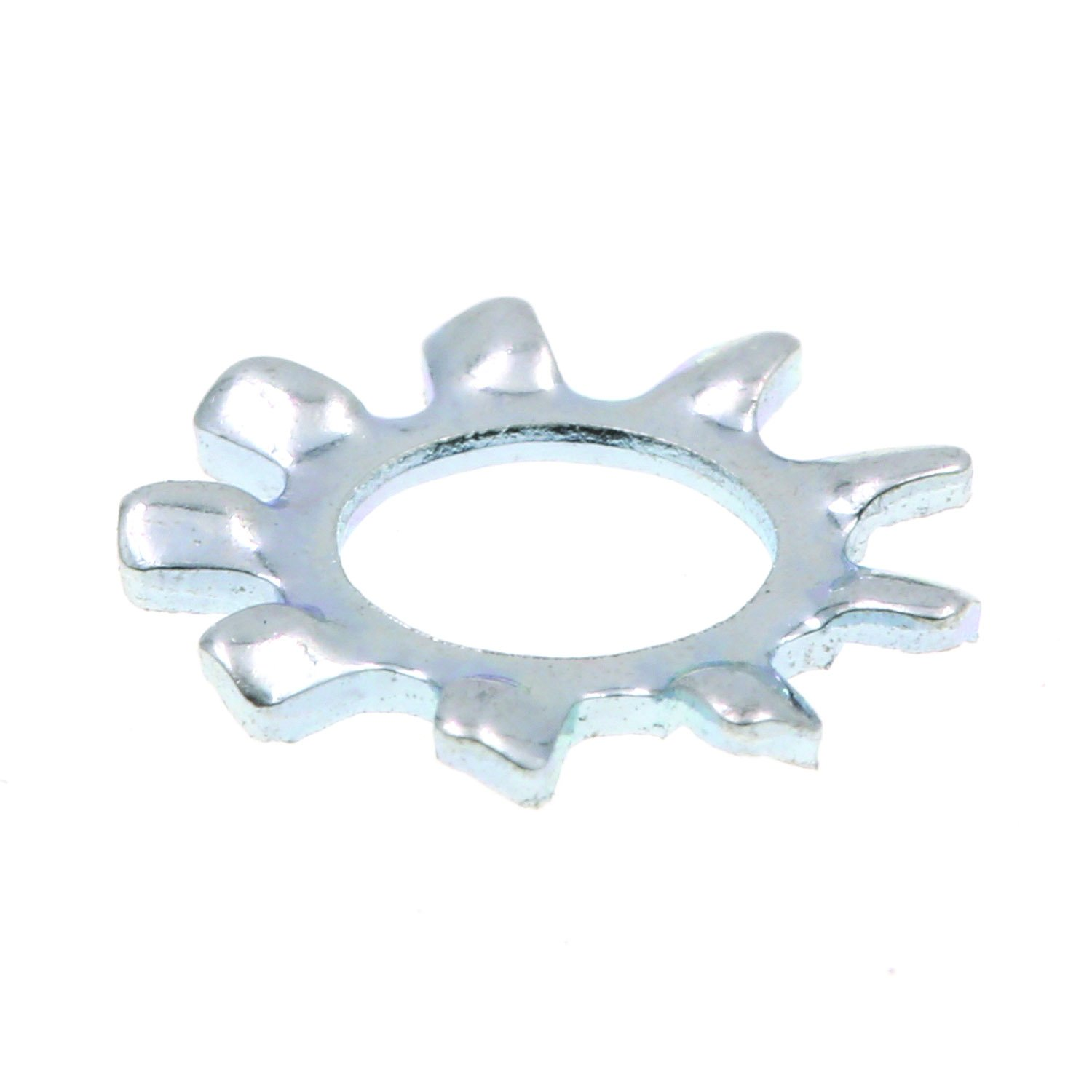 Prime Line 9083124 Lock Washers External Tooth #10 Zinc Plated Steel 100 Pack
