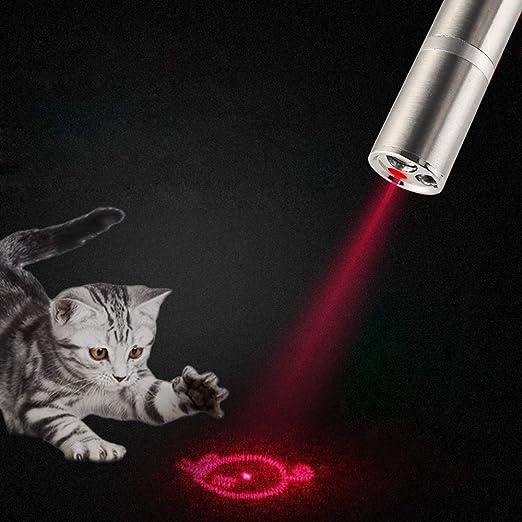 Faburo 2 Juguetes interactivos para Gatos + 2 Ratones de sisal, Juegos interactivos para Gatos con 7 en 1 función, USB Recargable, Herramienta de ...
