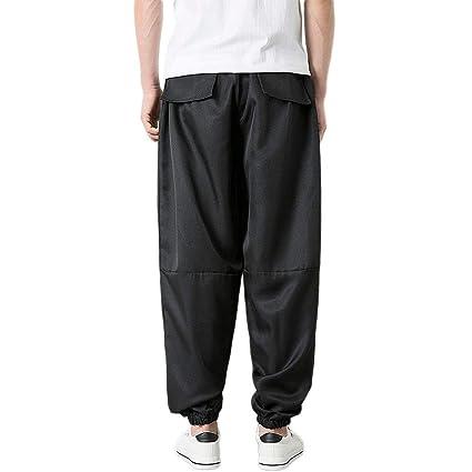 Pantalones Hombre Trekking,Modaworld Pantalón Casual con Estampado ...