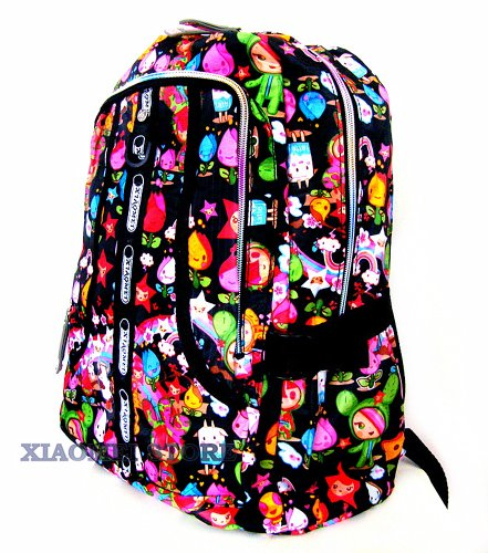 cc017e044698 XIAOMEI Colourful Cartoon A4 Backpack 8130A for Travel